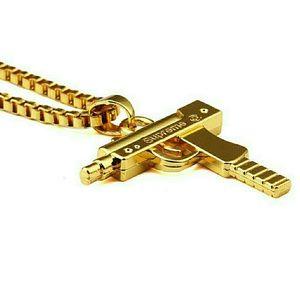 Gold Supreme Uzi Chain